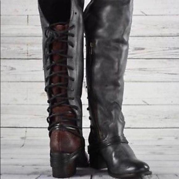 96a1323b1a9e90 Freebird by Steven Shoes - Freebird by Steven Coal Riding Boot Knee High